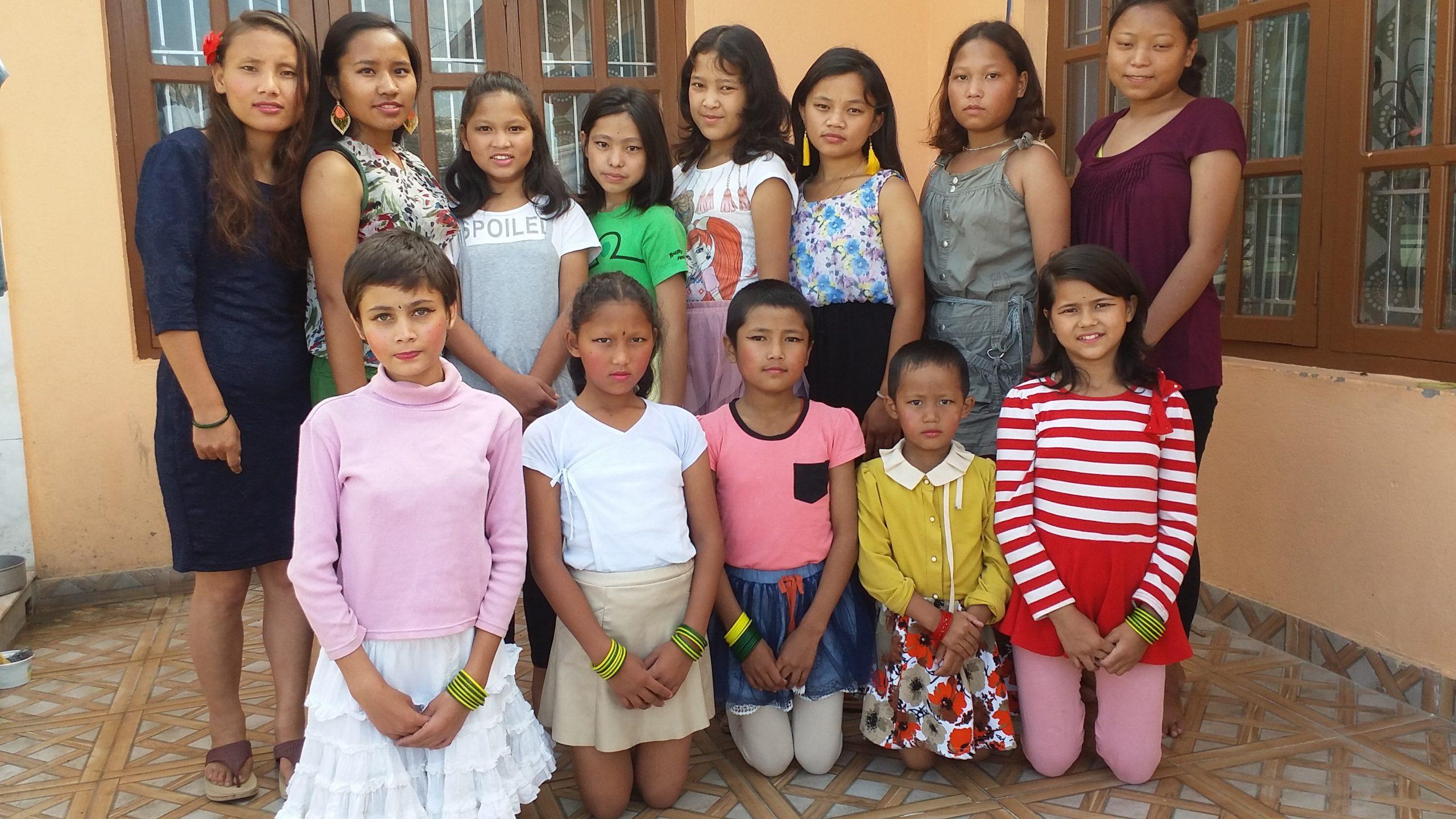 Creciendo en Nepal