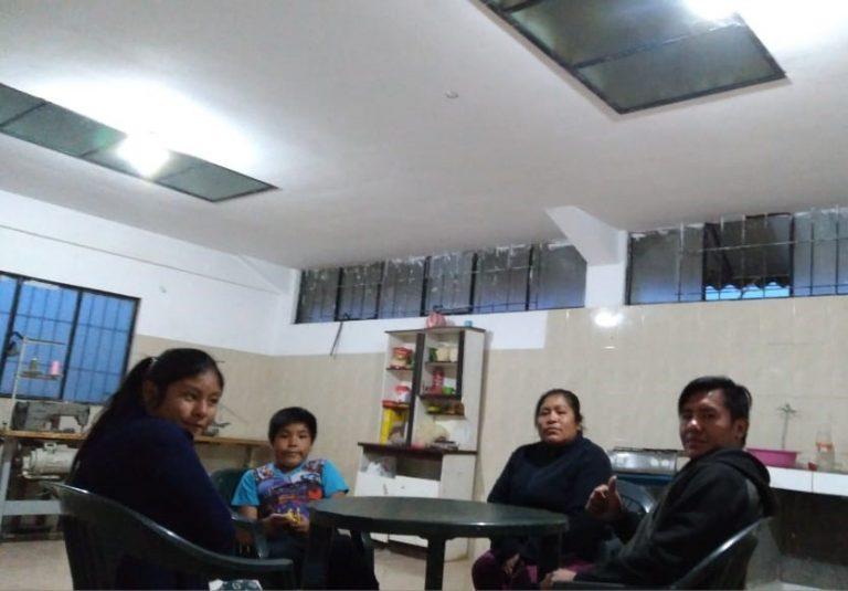 Mantenimiento casa acogida mujeres Luz Esperanza