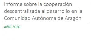 PRESENTACIÓN DEL INFORME DE AYUDA OFICIAL AL DESARROLLO EN TERUEL