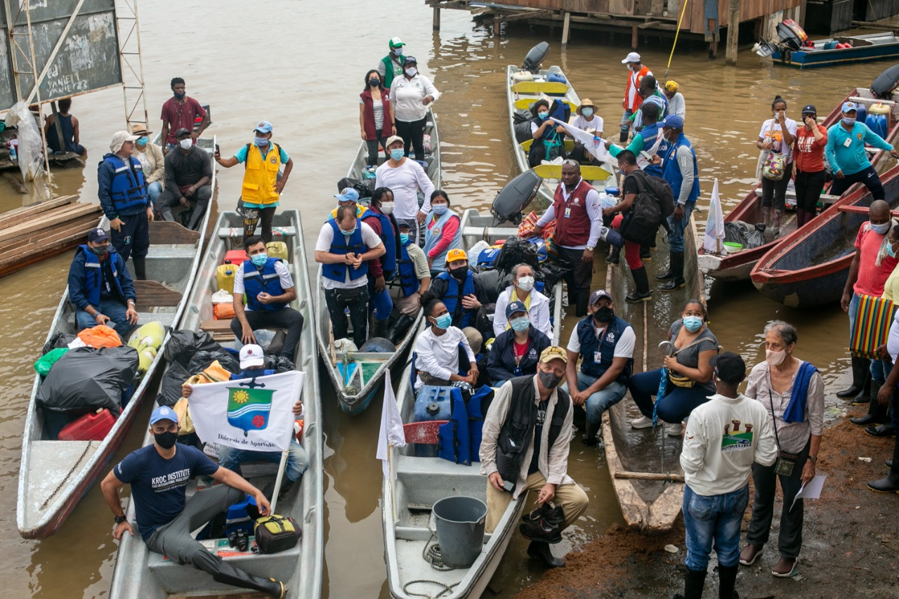 Misión humanitaria Chocó